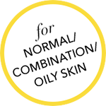 OILY SKIN BADGE