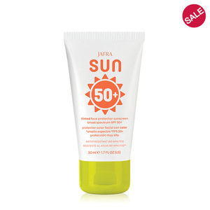 JAFRA Sun Tinted Face Protector Sunscreen Broad Spectrum SPF 50+
