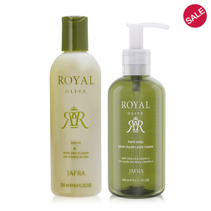 Royal Olive Cleanse + Hydrate Duo