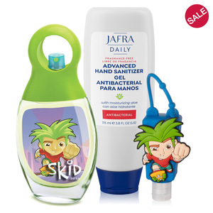 Skid Fragrance + Sanitizer Duo