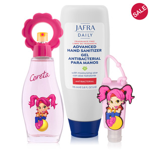 Coreta Fragrance + Sanitizer Duo
