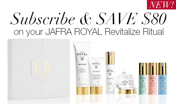 Subscribe JAFRA ROYAL Revitalize Ritual