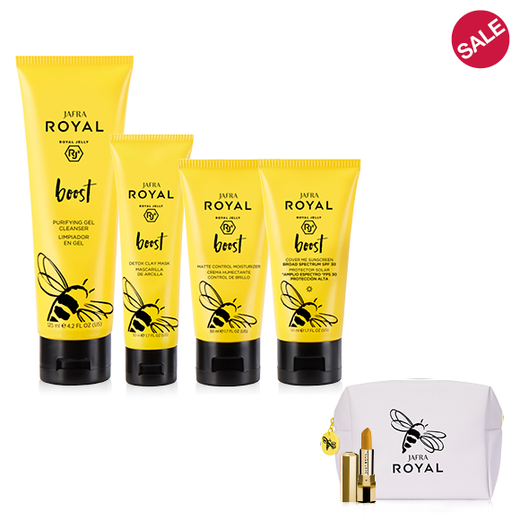 JAFRA ROYAL Boost Ritual - Normal/Combination/Oily Skin + 2 FREE GIFTS