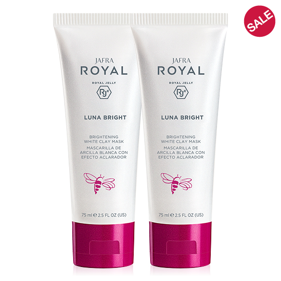 JAFRA ROYAL Luna Bright Brightening White Clay Mask 2 for $32