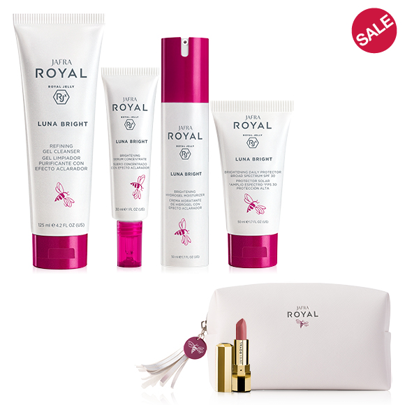 JAFRA ROYAL Luna Bright Ritual + 2 FREE GIFTS