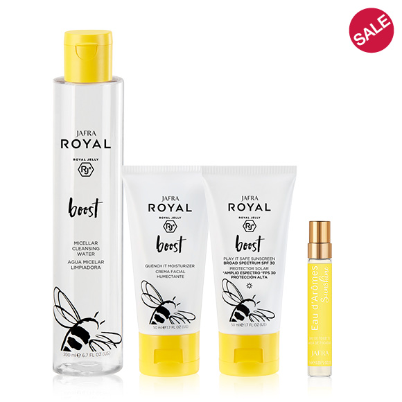 JAFRA ROYAL Boost Dry/Sensitive Skin Trio