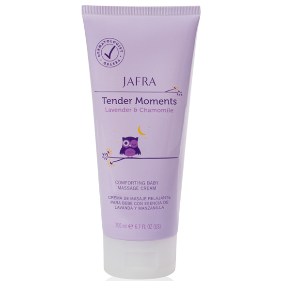 Tender Moments Lavender & Chamomile Comforting Baby Massage Cream