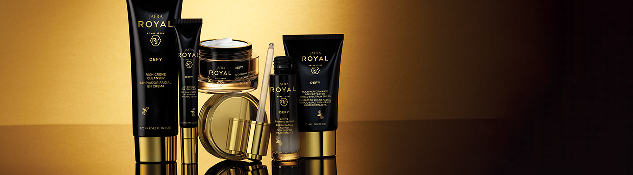 Category Banner Skincare Brands JAFRA Royal Defy