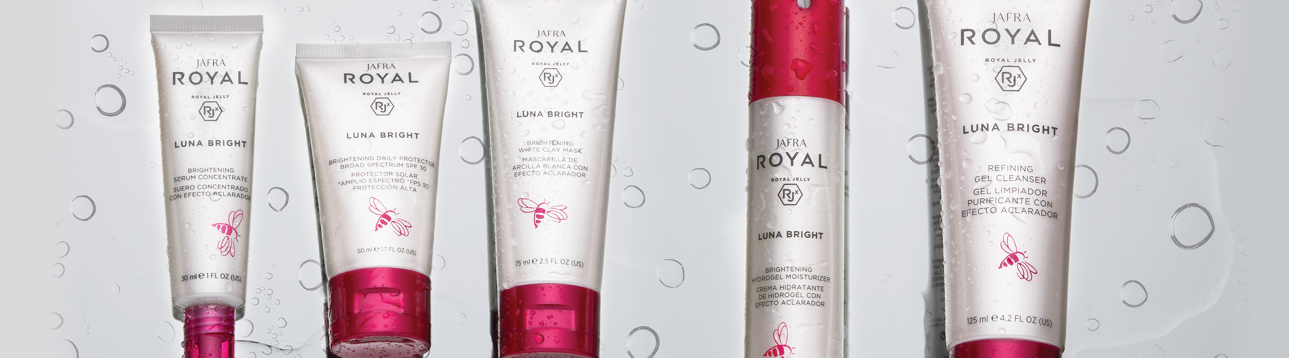 CATEGORY BANNER SKINCARE JAFRA ROYAL LUNA BRIGHT