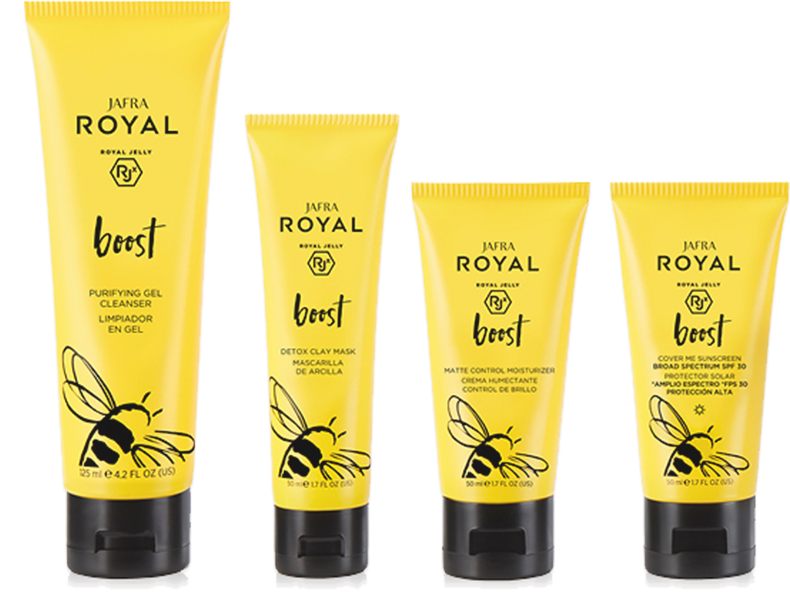 Royal Jelly Boost Product Line